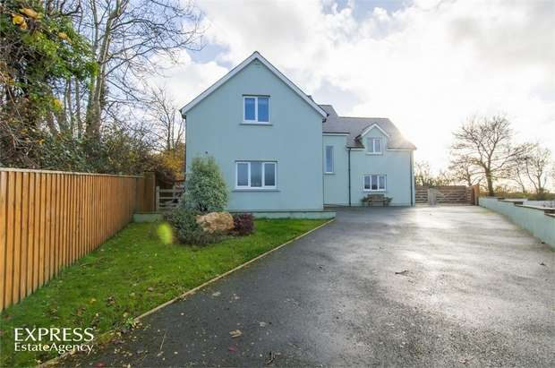 4 Bedrooms Detached House for sale in Golden Hill, Spittal, Haverfordwest, Pembrokeshire