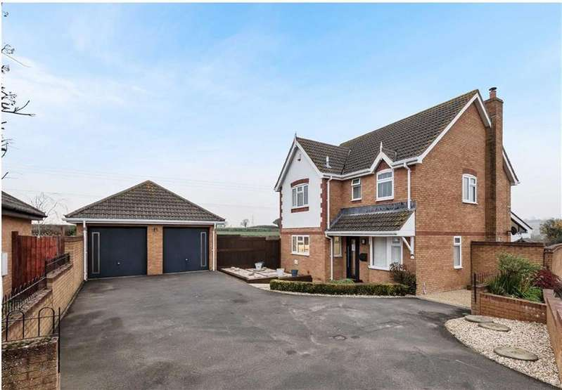 4 Bedrooms Detached House for sale in Townsend Way, Bradpole, Bridport, Dorset, DT6