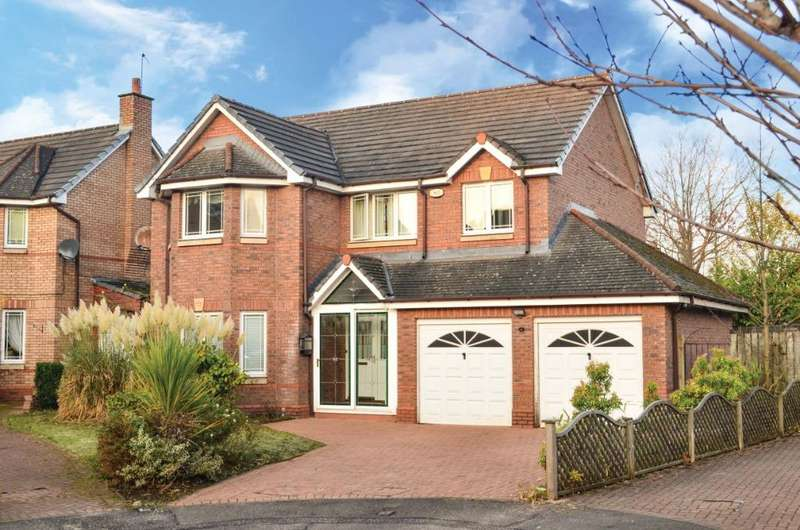 4 Bedrooms Detached House for sale in Laurel Park Close, Jordanhill, Glasgow, G13 1RD