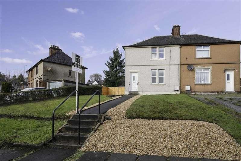 2 Bedrooms Semi Detached House for sale in Highland Dykes Crescent, Bonnybridge, Stirlingshire