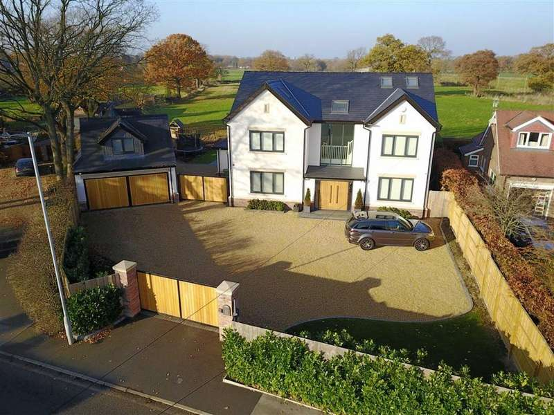 6 Bedrooms Detached House for sale in Jenny Lane, Woodford, Cheshire