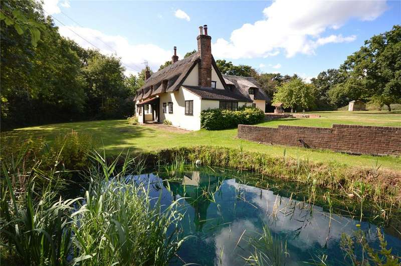 4 Bedrooms Detached House for sale in The Thatch, Mill Street, Hastingwood, Essex, CM17