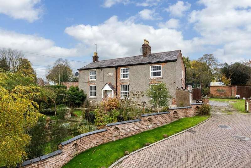 6 Bedrooms Detached House for sale in Hallowgate House Hallowsgate Cottage, Kelsall, CW6 0PU