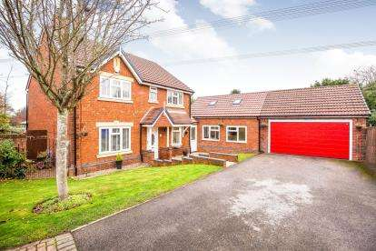 5 Bedrooms Detached House for sale in Bisham Park, Sandymoor, Runcorn, WA7