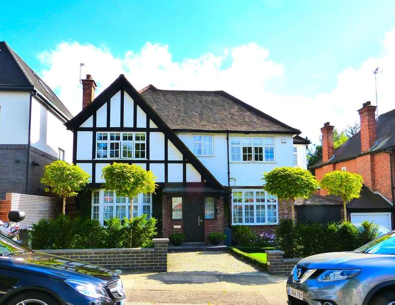 5 Bedrooms Detached House for sale in OAKFIELDS ROAD, TEMPLE FORTUNE, LONDON, NW11