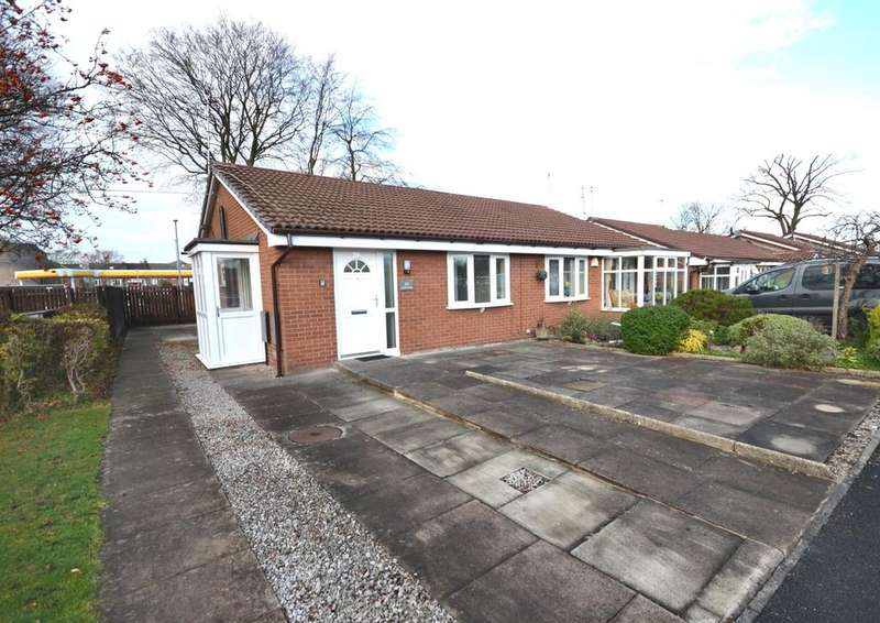 2 Bedrooms Semi Detached Bungalow for sale in Lomas Close, Burnage