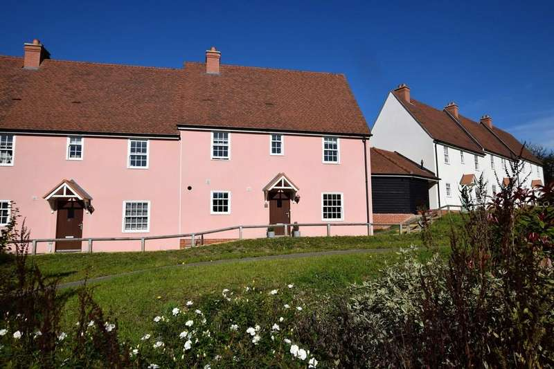 3 Bedrooms End Of Terrace House for sale in Tawneys Ride, Bures CO8 5DB