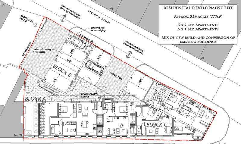 Residential Development Commercial for sale in A residential development site extending to approximately 0.19 acres set within the heart of Old Cwmbran