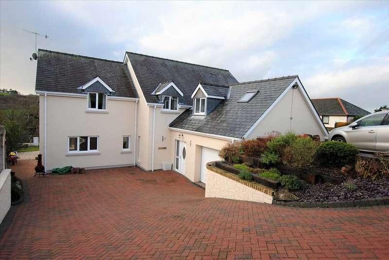 5 Bedrooms Detached House for sale in Tringham, The Ridgeway, Saundersfoot