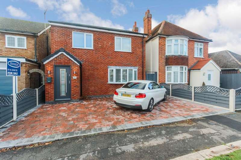 3 Bedrooms Detached House for sale in Kings Drive, Leicester Forest East, Leicester, LE3