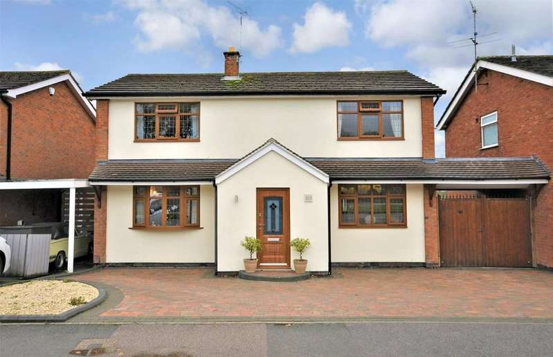 4 Bedrooms Detached House for sale in Valley Road, Loughborough, Leicestershire