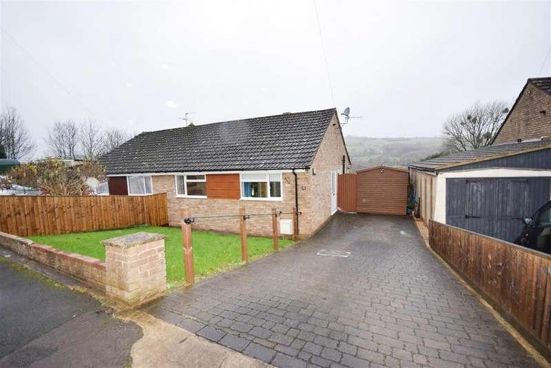 2 Bedrooms Semi Detached Bungalow for sale in Birch Road, Kingscourt, Stroud