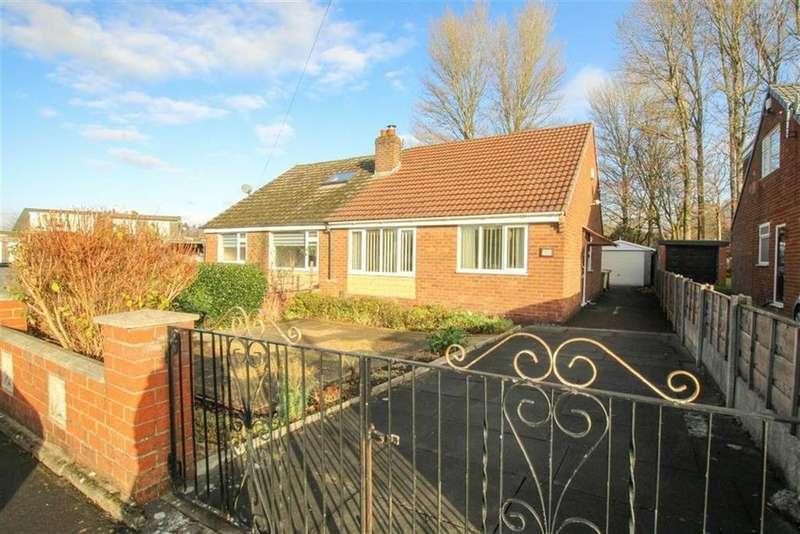 2 Bedrooms Semi Detached Bungalow for sale in Sandown Crescent, Little Lever, Bolton