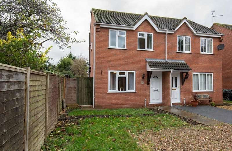3 Bedrooms Semi Detached House for sale in Essex Way, Bourne, PE10