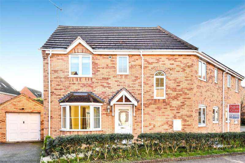4 Bedrooms Semi Detached House for sale in Minerva Close, Ancaster, NG32