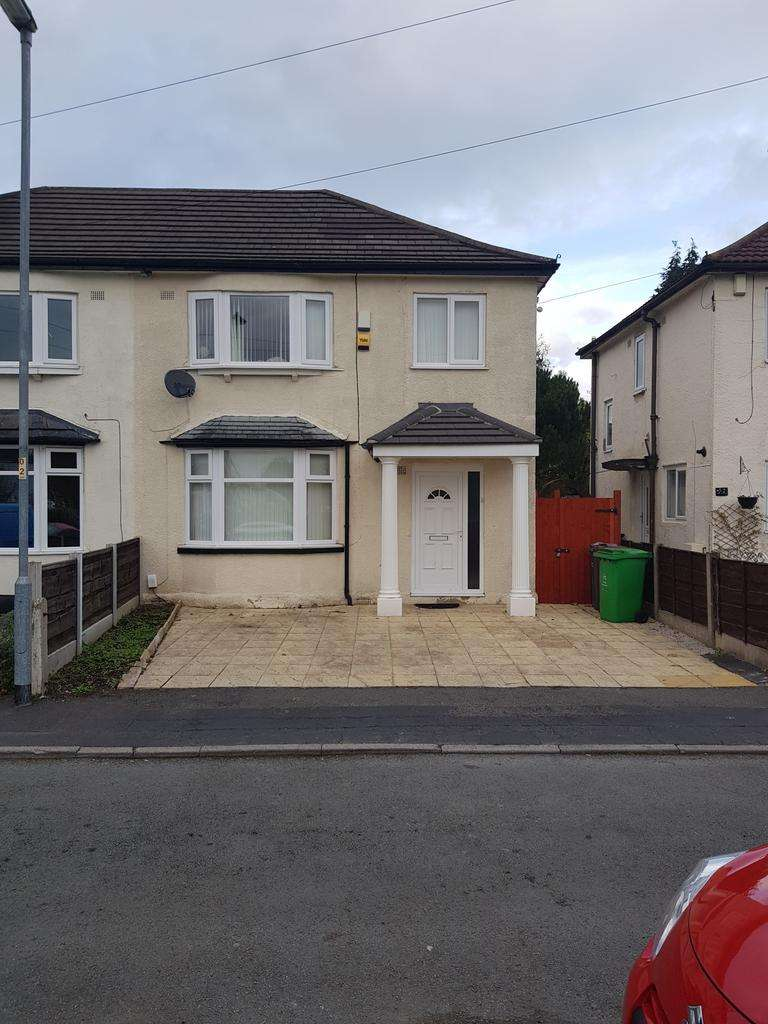 3 Bedrooms Semi Detached House for sale in Kingsway Crescent, Manchester, M19