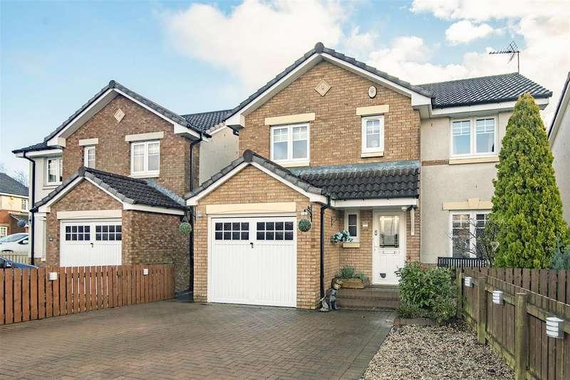 4 Bedrooms Detached House for sale in Ardgay Drive, Bonnybridge