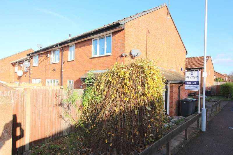 1 Bedroom Cluster House for sale in Heron Drive, Luton, Bedfordshire, LU2 7LZ