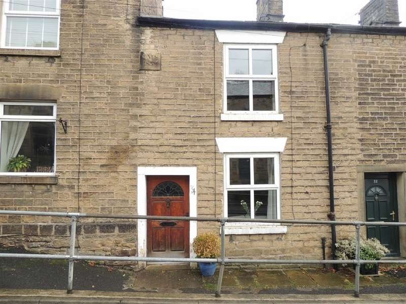 2 Bedrooms Terraced House for sale in Mellor Road, New Mills, High Peak