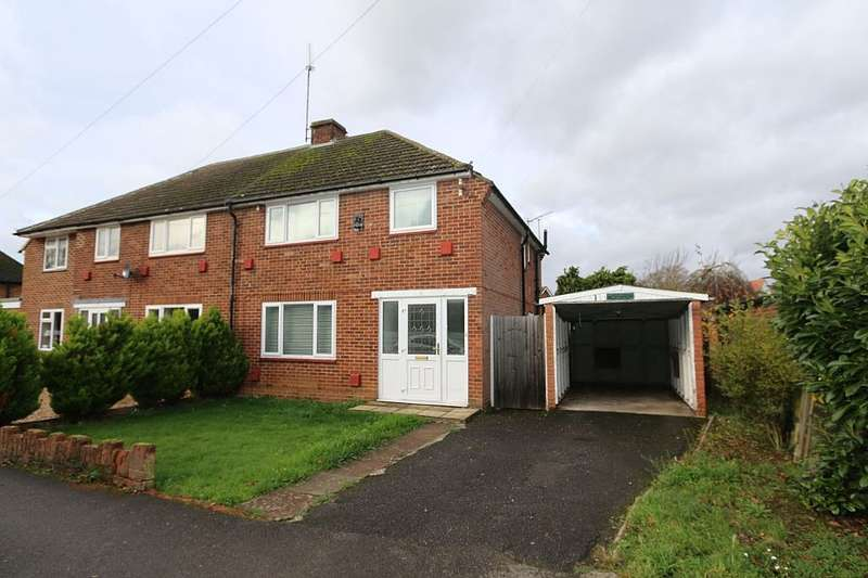 3 Bedrooms Semi Detached House for sale in Milestone Crescent, Charvil, Reading, Berkshire, RG10 9RG