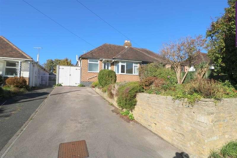 2 Bedrooms Semi Detached Bungalow for sale in Noverton Lane, Prestbury