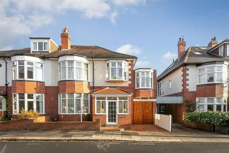 5 Bedrooms Semi Detached House for sale in Westfield Avenue, Gosforth, Newcastle upon Tyne
