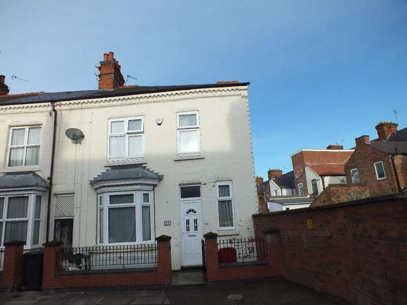 3 Bedrooms Terraced House for sale in Stroud Road, Off Green Lane Road, Leicester, LE5 3NX