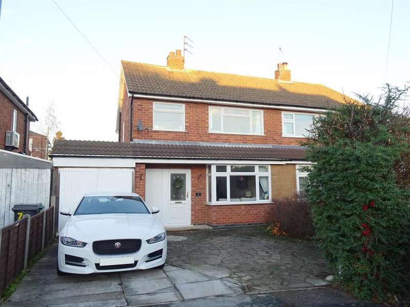 3 Bedrooms Semi Detached House for sale in Cherwell Road, Barrow Upon Soar, Leicestershire