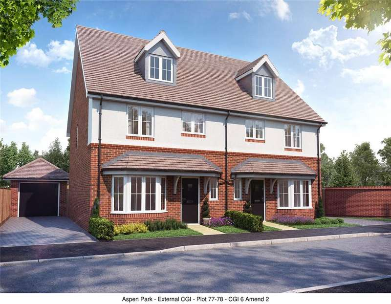 4 Bedrooms Semi Detached House for sale in Plot 135, The Madeley, Aspen Park, Haddenham, Aylesbury, Buckinghamshire, HP17