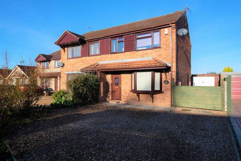 3 Bedrooms Semi Detached House for sale in The Graylings, Boston, PE21