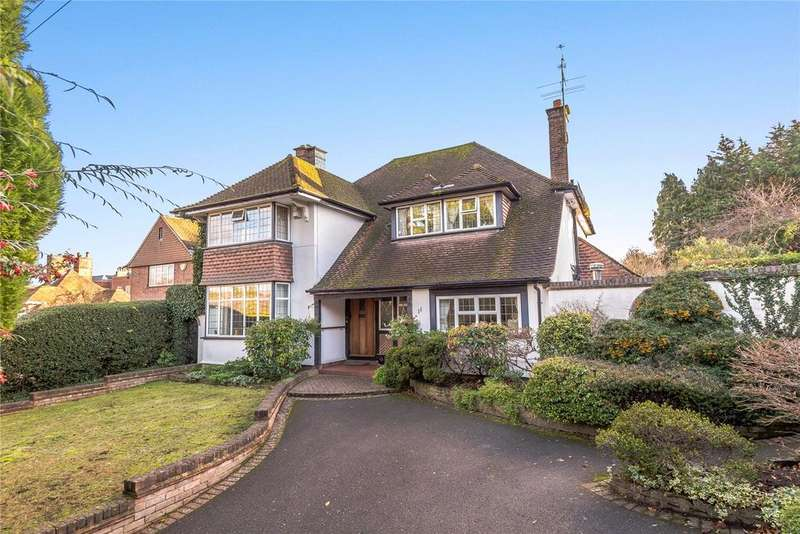 4 Bedrooms Detached House for sale in Townsend Lane, Harpenden, Hertfordshire, AL5