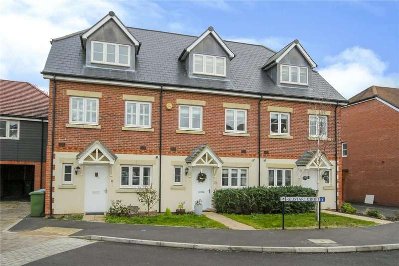 3 Bedrooms Terraced House for sale in Redstart Croft, Bracknell, Berkshire, RG12