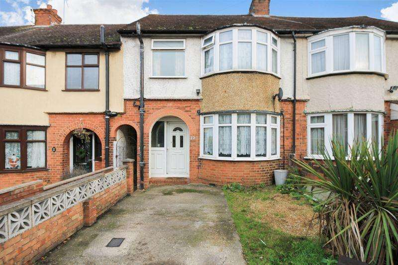 3 Bedrooms Terraced House for sale in Mount Pleasant Road, Luton