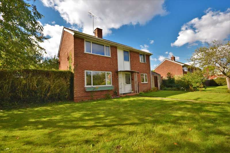4 Bedrooms Detached House for sale in Camrose Way, Basingstoke, RG21