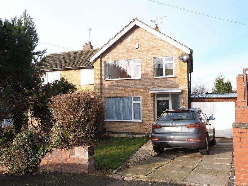 3 Bedrooms Semi Detached House for sale in Harrowgate Drive, Birstall