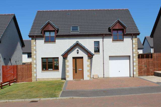 4 Bedrooms Detached House for sale in 18 Traynor Way, Buckie AB56 1FT