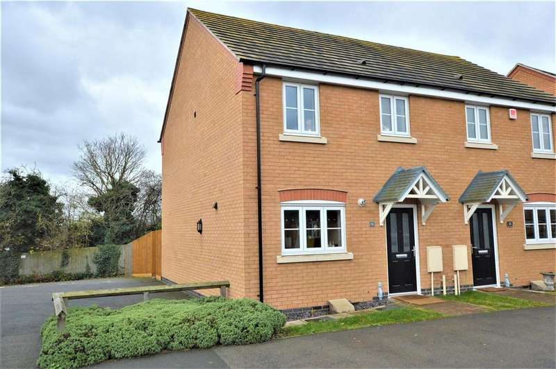 3 Bedrooms Semi Detached House for sale in Collins Avenue, Stamford