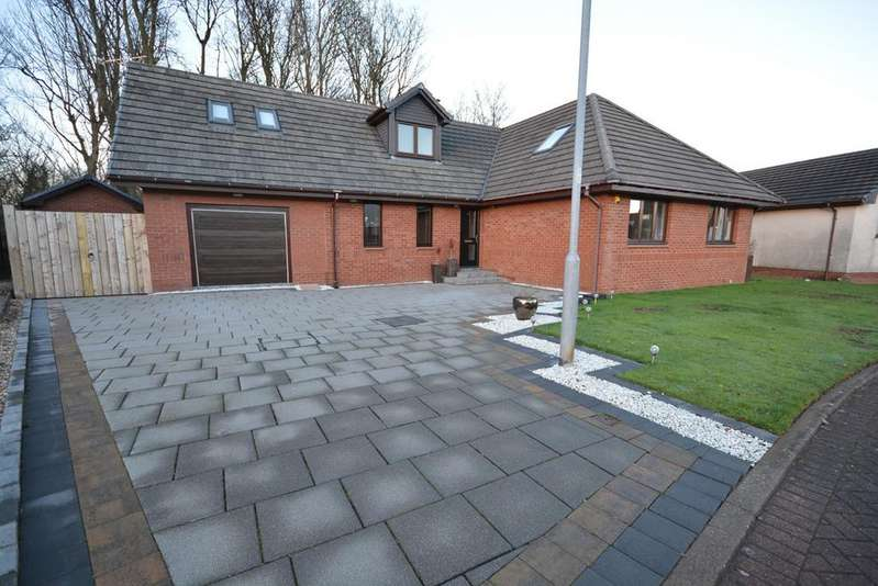 5 Bedrooms Detached House for sale in Castle Keep Gardens, Stanecastle, Irvine, KA11