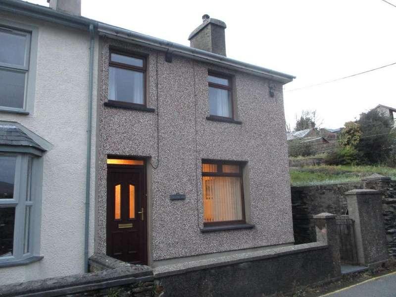 2 Bedrooms Semi Detached House for sale in Glasfryn Villa, Penrhyndeudraeth