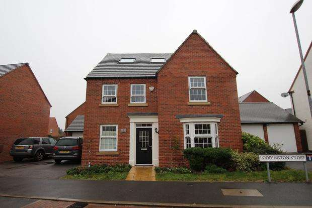6 Bedrooms Detached House for sale in Loddington Close, Syston, Leicester, LE7