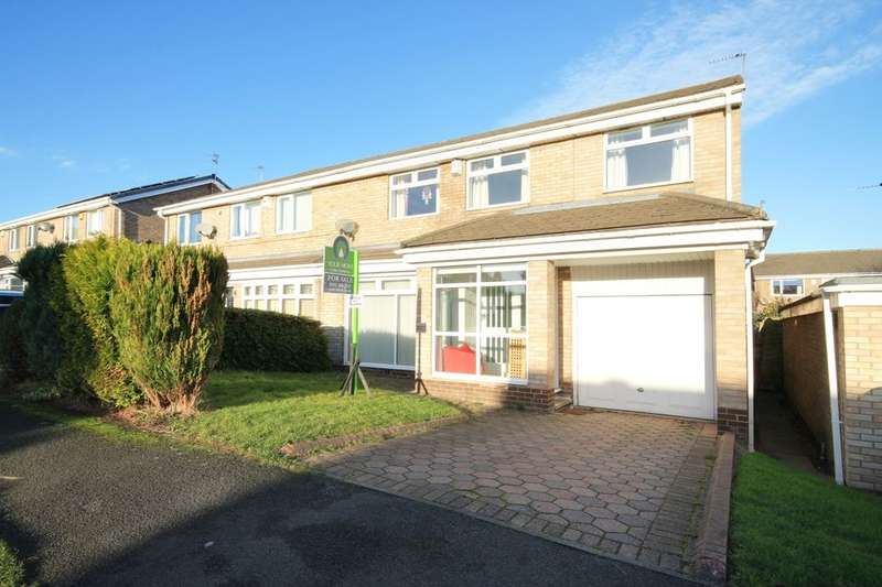 4 Bedrooms Semi Detached House for sale in Penhill Close, Ouston, Chester Le Street, DH2