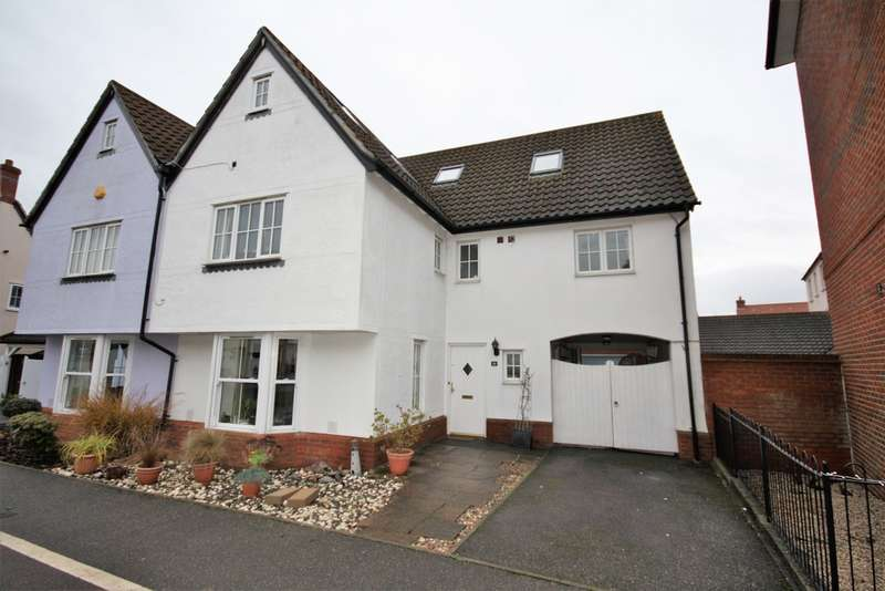 5 Bedrooms Semi Detached House for sale in Abell Way, Chancellor Park