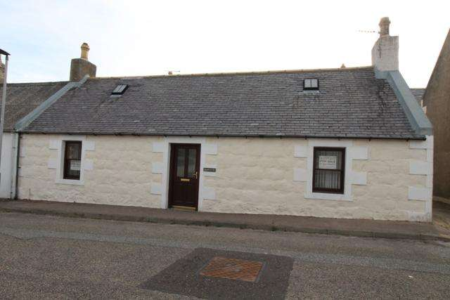 3 Bedrooms Semi Detached House for sale in Hamnavoe, New Street, Portknockie, Buckie AB56 4LR