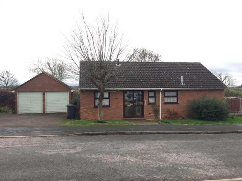 3 Bedrooms Detached Bungalow for sale in Somerset Close, Melton Mowbray
