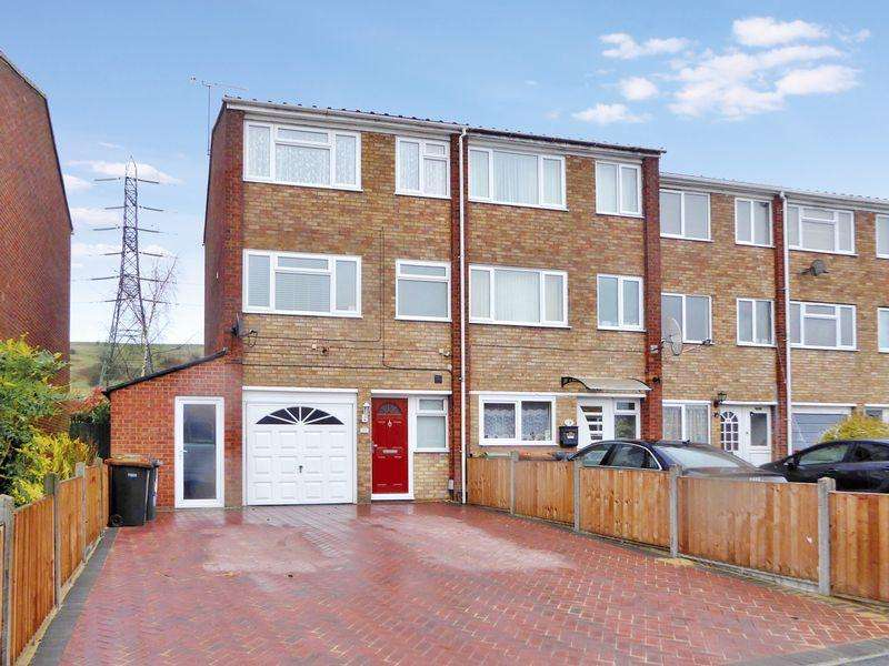 4 Bedrooms End Of Terrace House for sale in Jardine Way, Dunstable