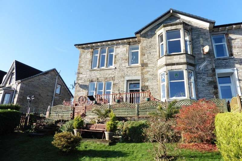 2 Bedrooms Ground Flat for sale in Albert Villa Royal Crescent, Dunoon, PA23 7AQ