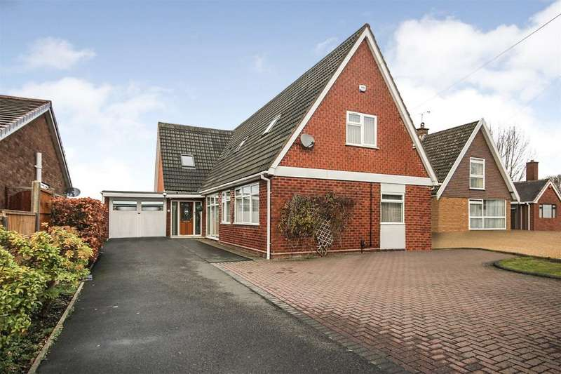 5 Bedrooms Detached Bungalow for sale in Abbotsford Drive, Dudley, West Midlands, DY1