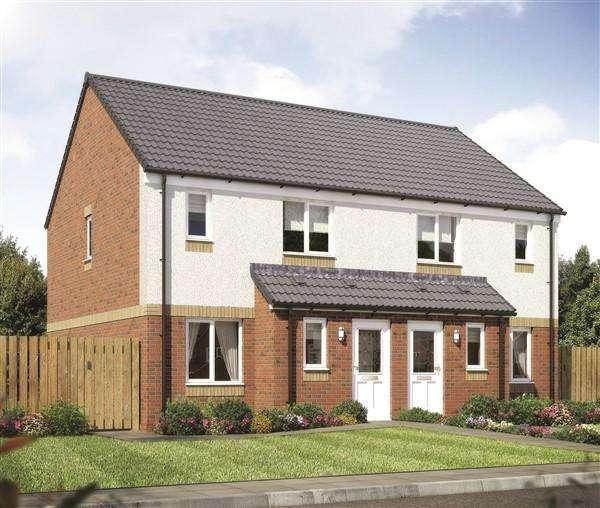 3 Bedrooms Semi Detached House for sale in Paddock Street, Carnbroe, ML5 4PG