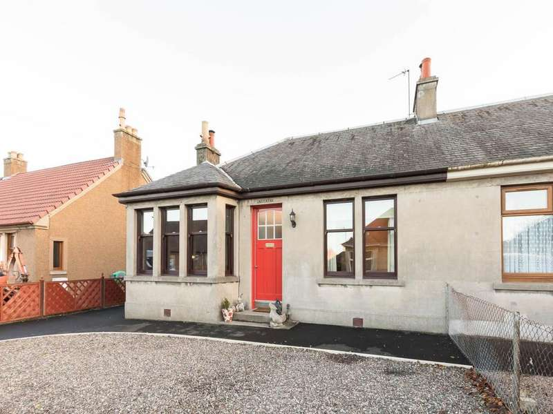 3 Bedrooms Semi Detached Bungalow for sale in Melville Place, Newburgh, Fife