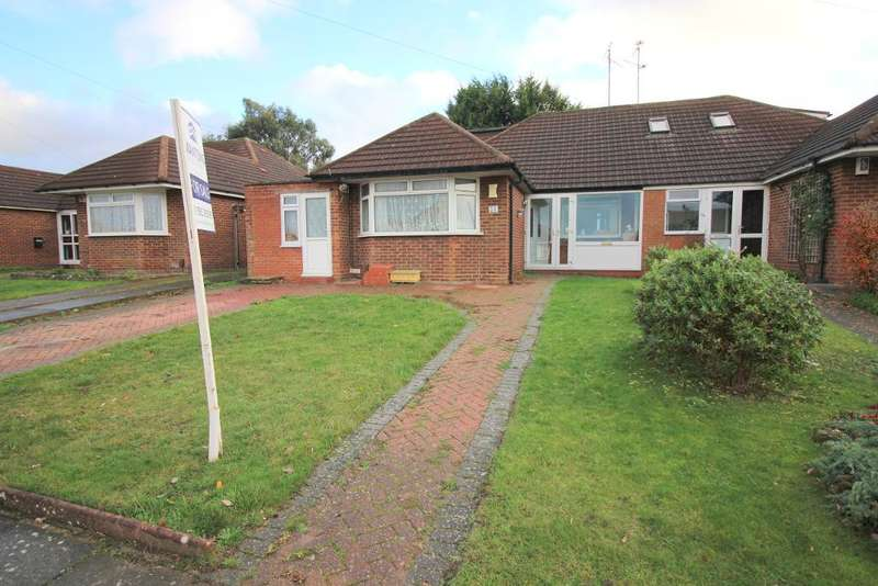 4 Bedrooms Chalet House for sale in Wadhurst Avenue, Luton, Bedfordshire, LU3 1UQ